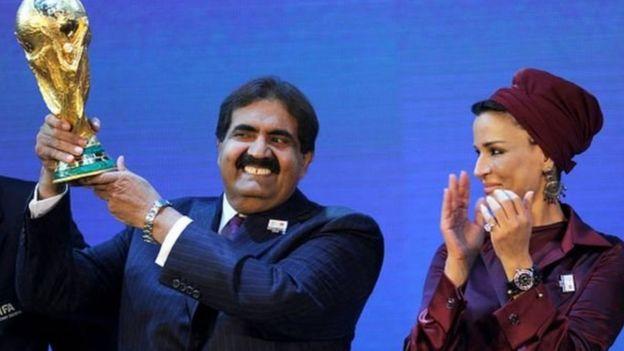 أمير قطر السابق