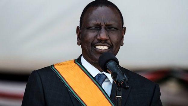 Naibu rais wa Kenya William Ruto amepuuzilia mbali madi kuwa watu wamekufa kutokana na njaa nchini Kenya