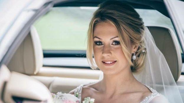 صوفي، كما تبدو في الصورة، تزوجت بعد حفل زفاف باذخ