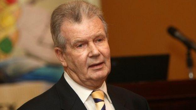Luders fue ministro de Economía de Pinochet.