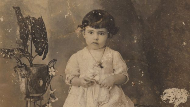 Irmã Dulce aos dois anos