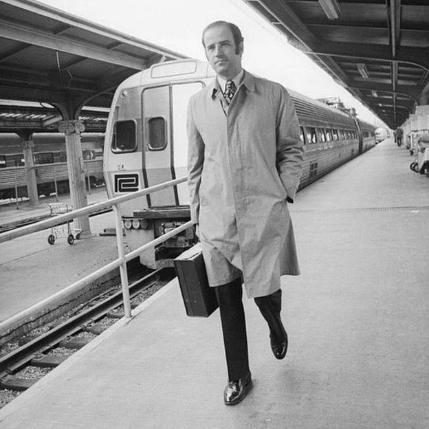 Joe Biden en 1972.