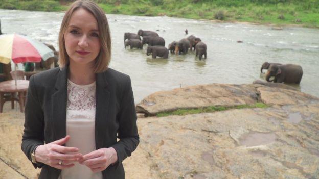 BBC Spotlight reporter Lyndsey