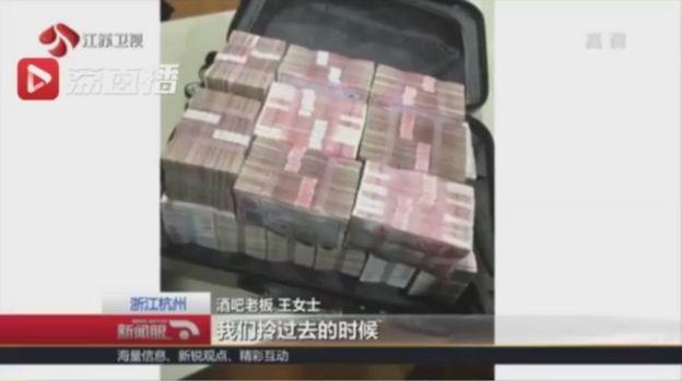 Vali tiền 'phí chia tay' 2 triệu Nhân dân tệ