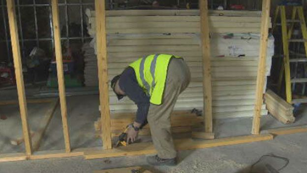 Building work on mosque in Stornoway