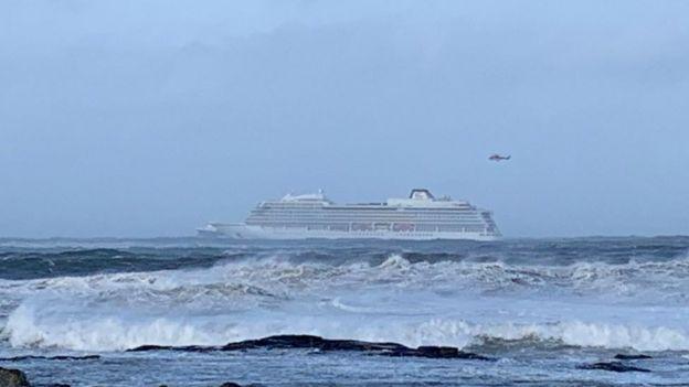 açıklardaki gemi
