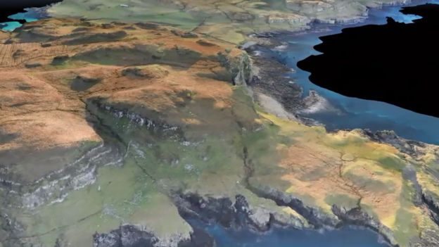 Drone's mapping of Canna and Sanday – World UAV Federation