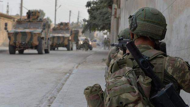 Türk ordusu Suriye'de