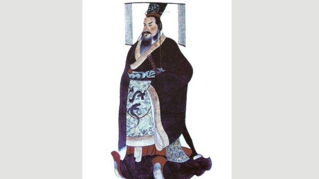 O imperador Qin Shi Huang