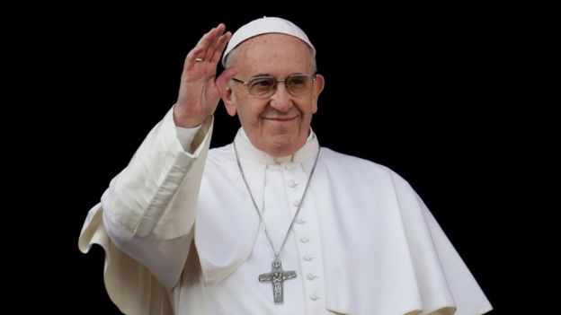 Pope Francis's Christmas message calls for an end to Syrian war ...