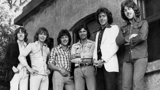 The Miami Showband in 1975