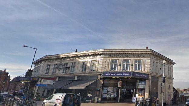 Willesden Green станция метро