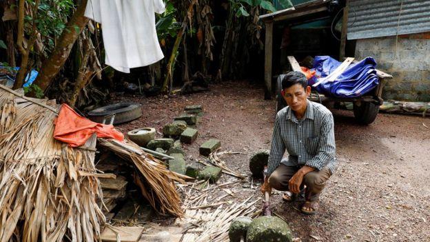 Ông Nguyễn Đình Gia, ảnh chụp ở nhà tại Hà Tĩnh ngày 27/10