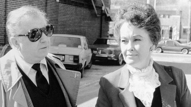 Ed y Lorraine Warren, investigadores de eventos paranormales.