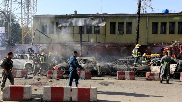 19 Tewas Dalam Bom Bunuh Diri di Afghanistan