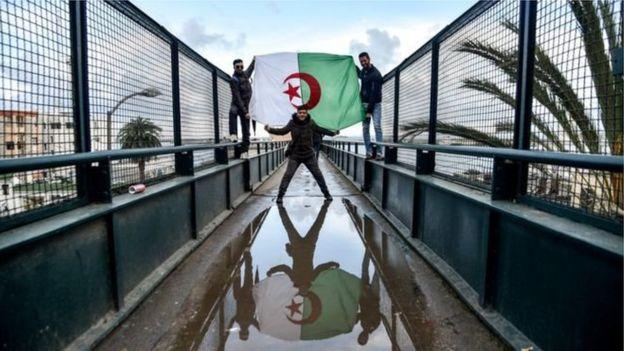 अल्जीरिया में प्रदर्शन