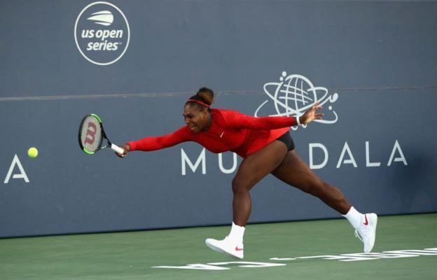Tras ganar su primer servicio, Serena Williams perdió 12 juegos consecutivos.