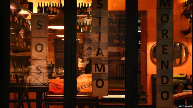 Итальянские рестораны закрыты с 11 марта