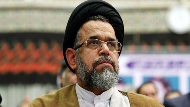 وزیر اطلاعات ایران