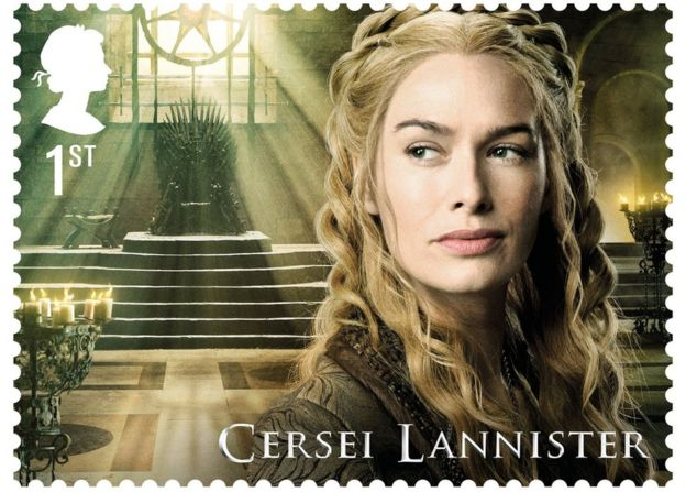 Cersei Lannister as played by Lena Headey