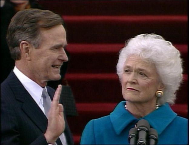 Obituary George Hw Bush Bbc News
