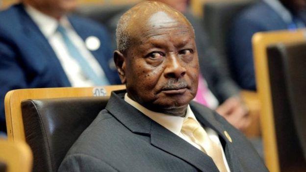 Madaxweynaha Uganda Yoweri Museveni