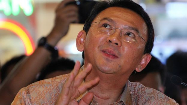 Ahok in the Mako Brimob prison