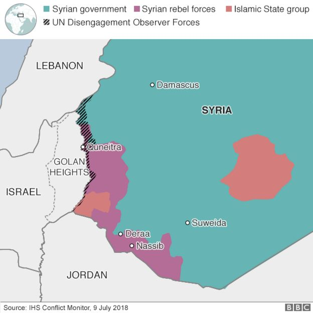 Syria conflict: Rebels begin to leave Quneitra, with army ...