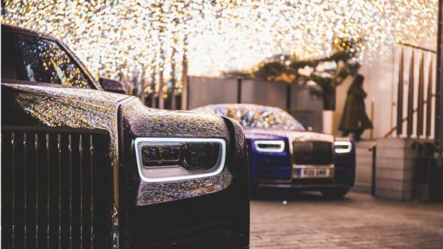 Право на роскошь - неотъемлемая часть лондонской жизни