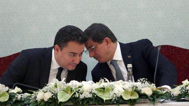 Ali Babacan ve Ahmet Davutoğlu