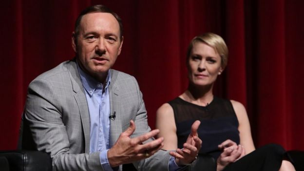 Kevin Spacey and Robinn Wright