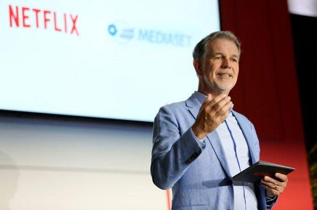 CEO de Netflix, Reed Hastings