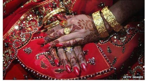 A Pakistani bride