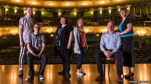 Becky Morris is part of the Lovelace Theatre Group in Nottinghamshire