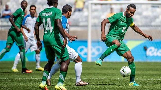 f691bf6bf Nigeria v Poland: Super Eagles don open camp for Wroclaw - BBC News ...