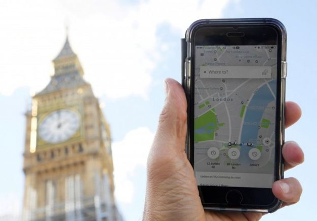 اوبر برای دریافت مجوز در لندن به دادگاه میرود