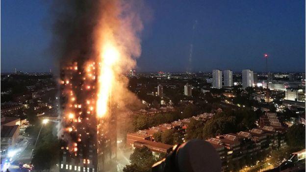Ascienden a 79 los muertos por incendio en Londres