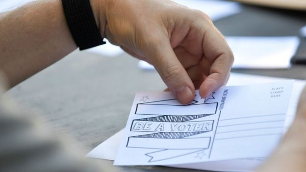 """""""Ve a votar""""."""