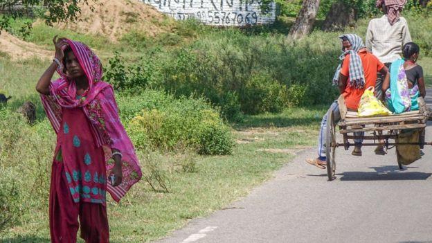 India rural road