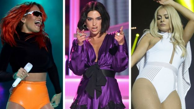 Rita Ora, Dua Lipa and Bebe Rexha