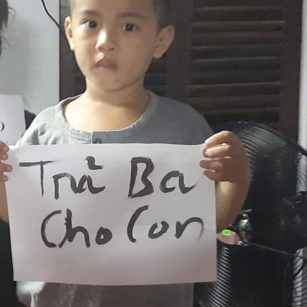 Ông Ánh bị bắt khi con trai ông mới ba tuổi rưỡi