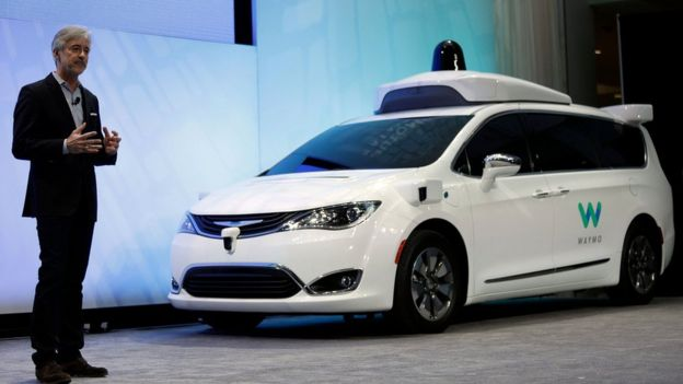 Waymo was spun out of Google earlier this year as the company seeks to commericalise its technology