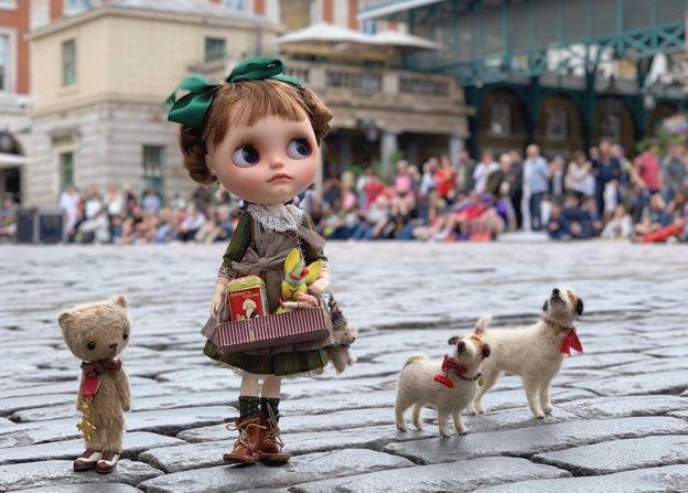 Muñeca en Covent Garden