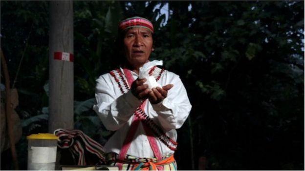 Shainkiam Yampik Wananch fait partie des diacres qui servent les catholiques de l'Amazonie.