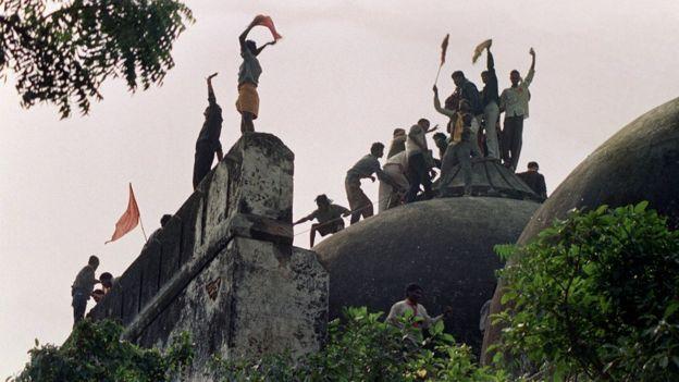 জয় শ্রীরাম শ্লোগান জনপ্রিয় হয় বাবরি মসজিদ - রাম জন্মভূমি আন্দোলনের সময়