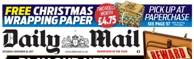 Paperchase 'sorry' for Daily Mail offer - BBC News