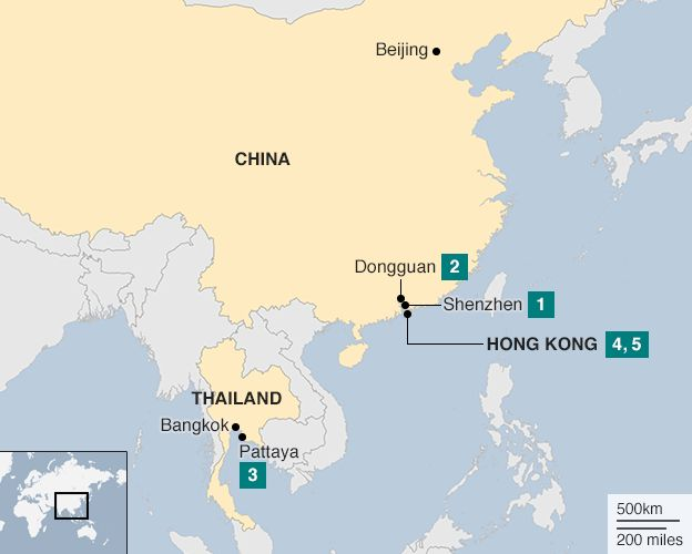 Hong kongs missing booksellers and banned xi jinping book bbc hong kong 30 december map gumiabroncs Choice Image