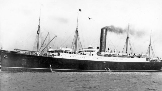 El RMS Carpathi