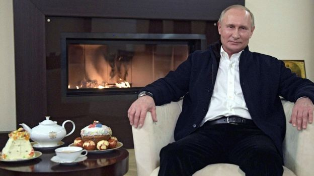 President Putin makes TV address for Orthodox Easter, 19 Apr 20