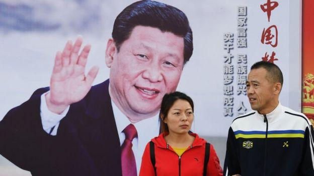 Xi Jinping poster